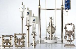 mekanisme kerja sanitary pump merk graco