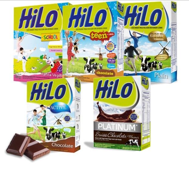 susu rendah lemak hilo