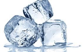 berikan es batu