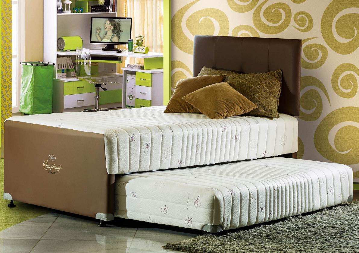 spring bed merek elite